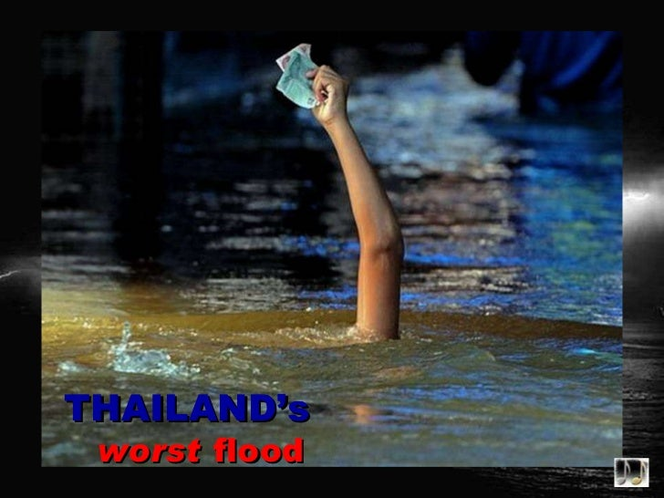 Thailand's worst flood – images of Thailand's worst flood in decades with Gregorion & Sarah Brightman's 'Don't give up'