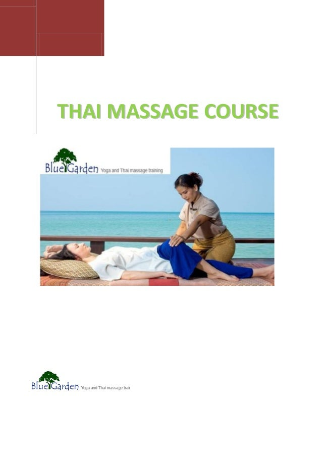 Thai massage amager bide i det sure æble