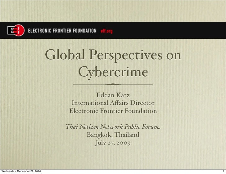Thainetizennetwork globalcybercrime 07272009