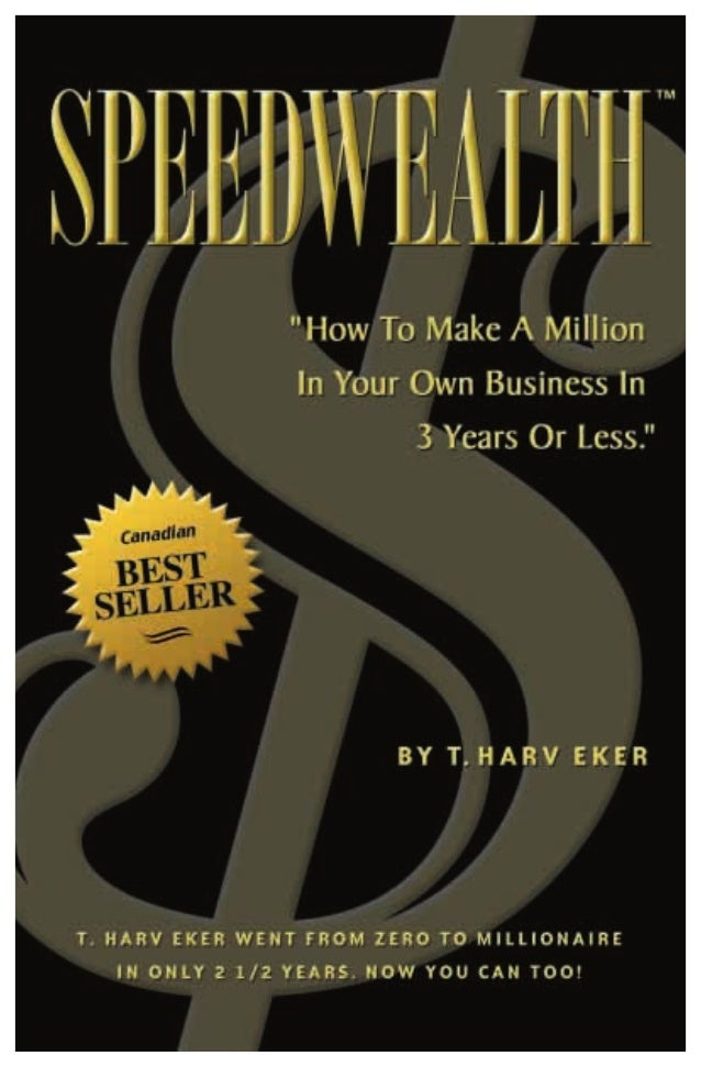 Conditional Redistribution RightsWelcome to the best selling book, SpeedWealth™, frominternationally renowned author and s...
