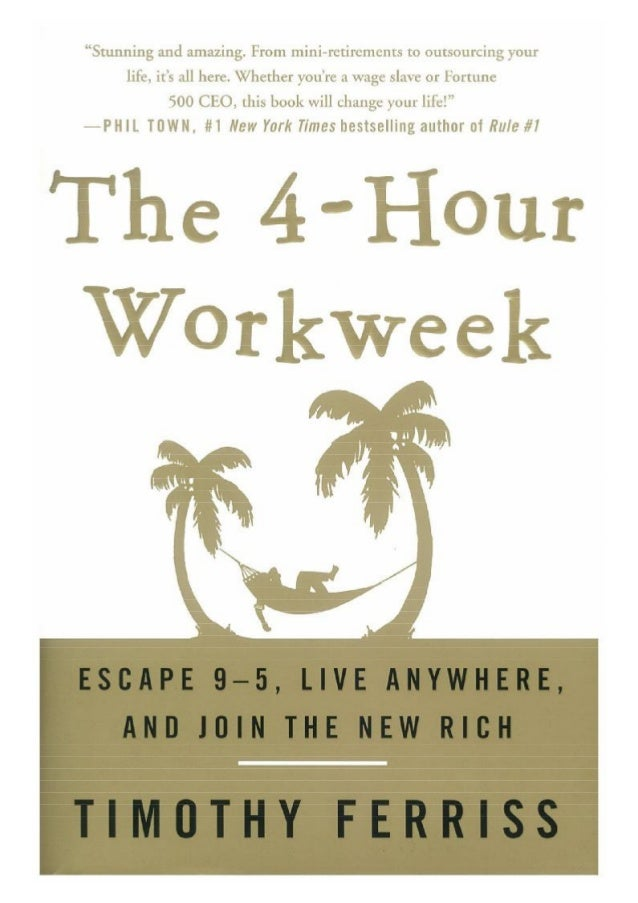 "IPRAISE FORThe 4-Hour Workweek""Its about time this book was written. It is a long-overdue manifesto for themobile lifestyl..."
