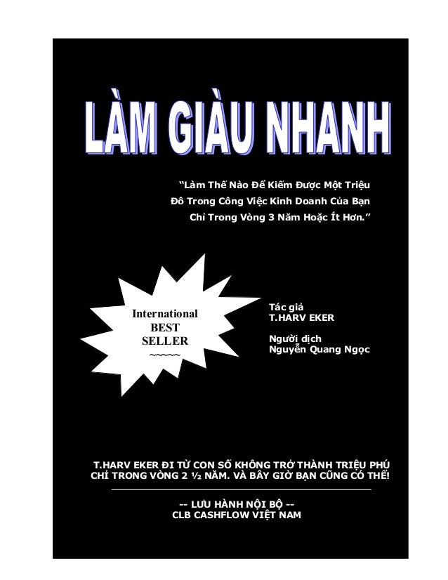 Thairobin speed wealth-lamgiaunhanh