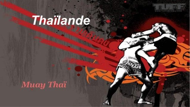 Thaïlande Muay Thaï