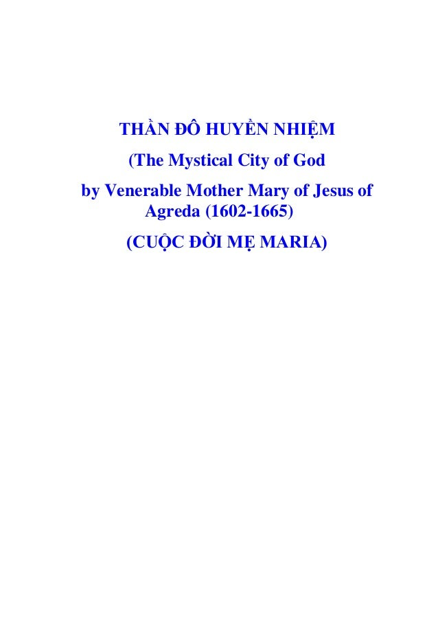 Thần đô huyền nhiệm (Cuộc đời Đức Mẹ)