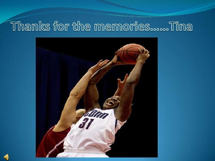 Tina Charles. Thanks for the memories