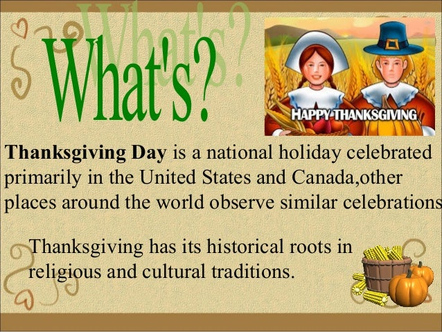 What date is thanksgiving
