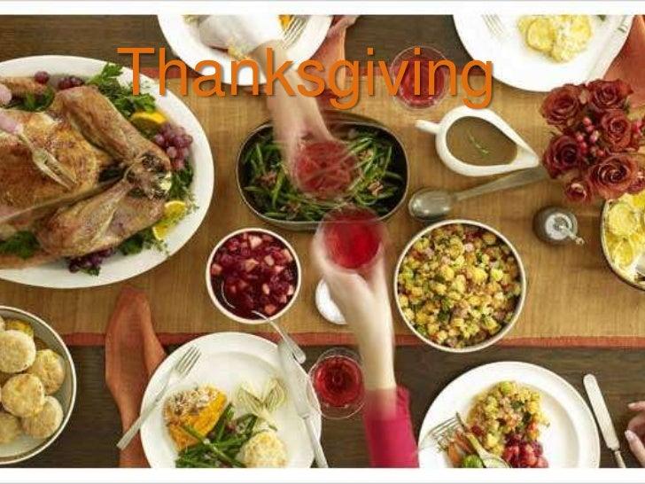Thanksgiving Explanation IES La Senda