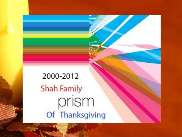 Thanks giving shah_12