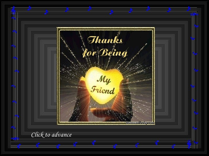 Thanks To Friends