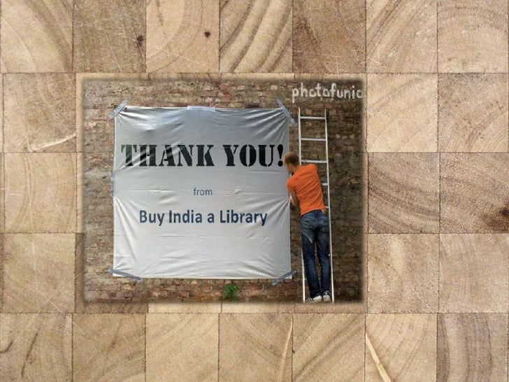 Thank you from Buy India a Library - we did it!