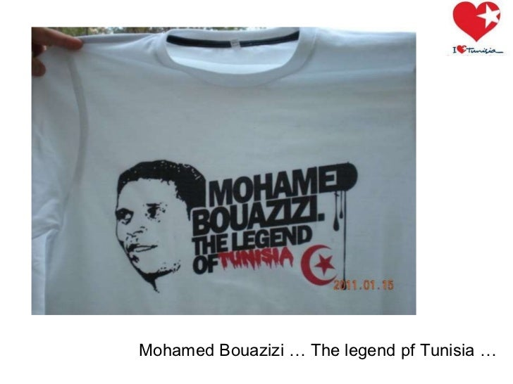 Mohamed Bouazizi … The legend pf Tunisia …