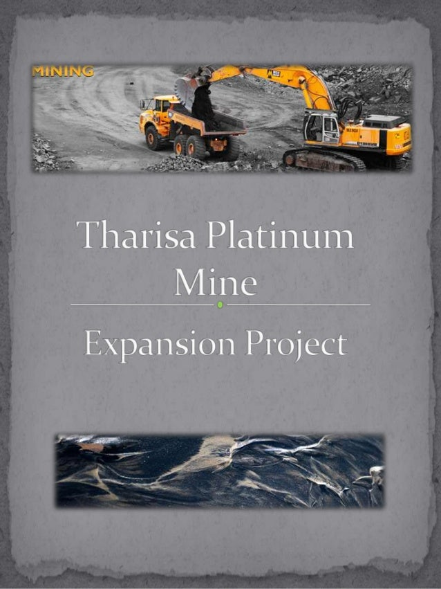 Tharisa platinum mine expansion project 2012