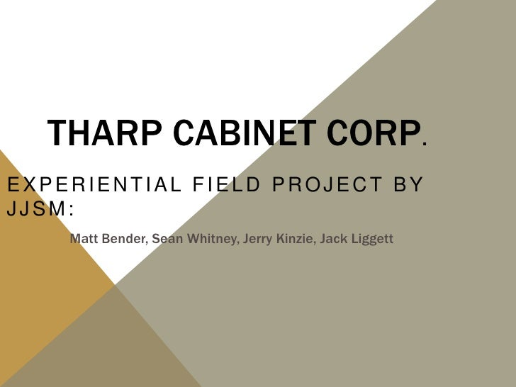 Tharp Cabinet Corp 2