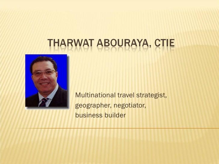 Tharwat Abouraya, CTIE