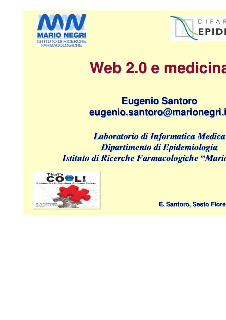 That's cool - Santoro Web2.0 e medicina