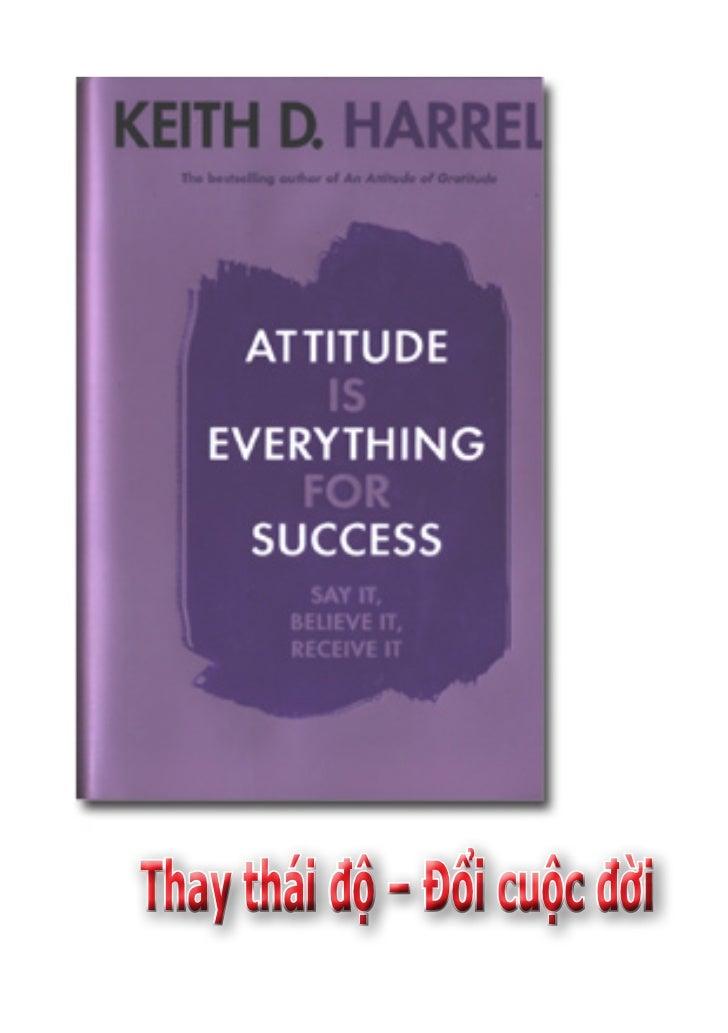 Thay thái độ – Đổi cuộc đời