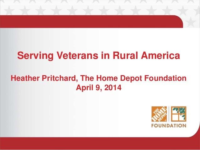 Serving Veterans in Rural America