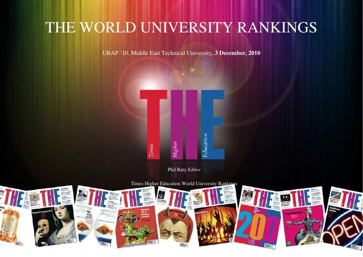 TIMES HIGHER EDUCATION 2010