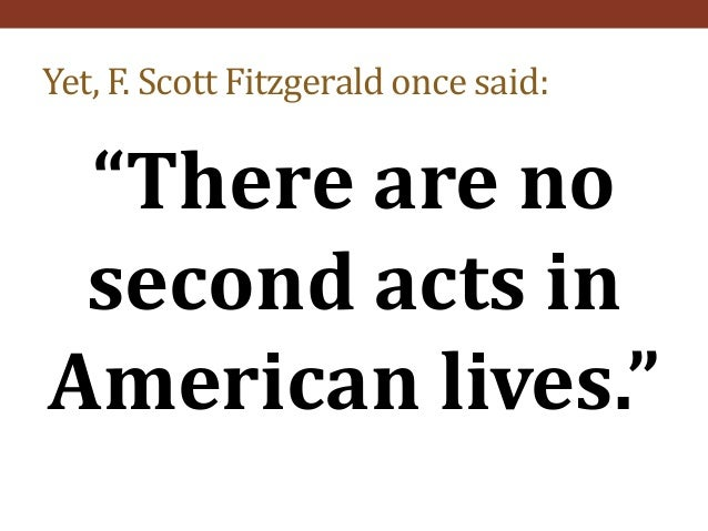 the symbolic american dream in the great gatsby by f scott fitzgerald F scott fitzgerald wrote his novel, the great gatsby to represent the rise and fall of the american dream, an ideal worshipped during the 1920s.