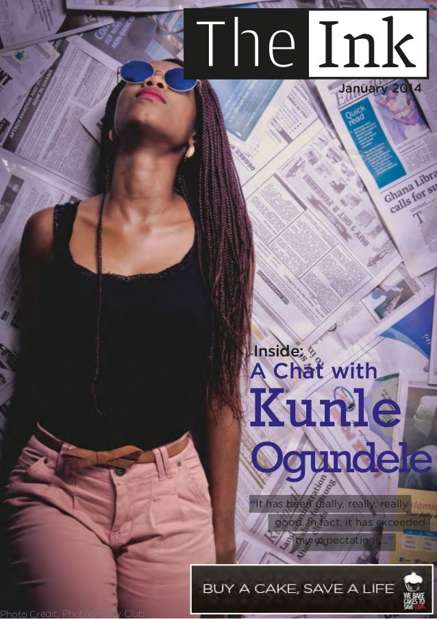 "A Chat with Kunle Ogundele Inside: ""It has been really, really, really good..In fact, it has exceeded my expectations..."" ..."