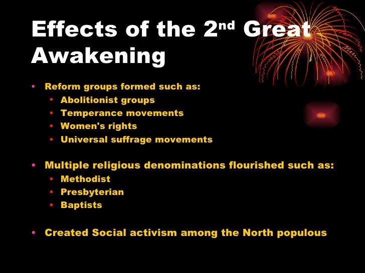 overview of the second great awakening essay Overview  one can this is not to say that historians have ignored the second great awakening to which he was referring or the tremendous social and.