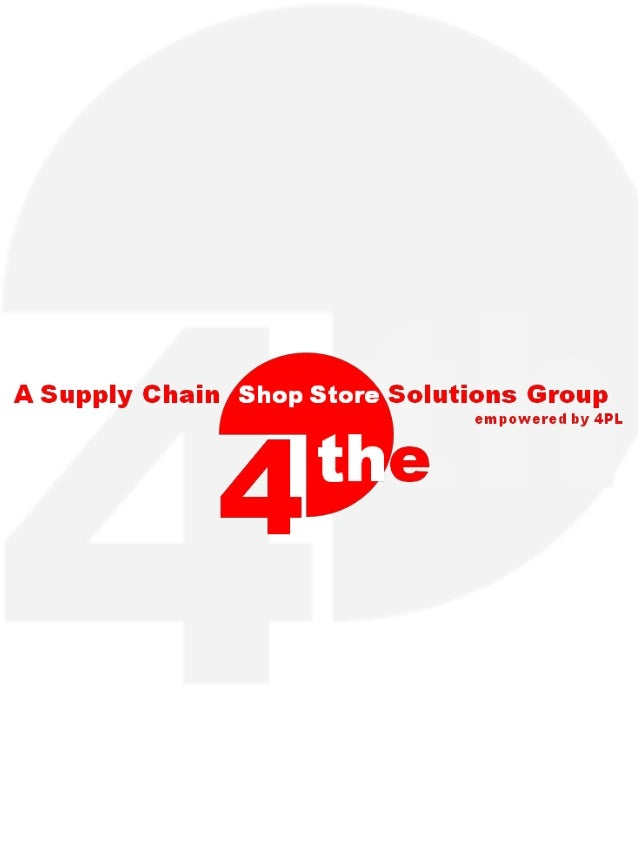 Supply Chain Shop Store Solutions Group