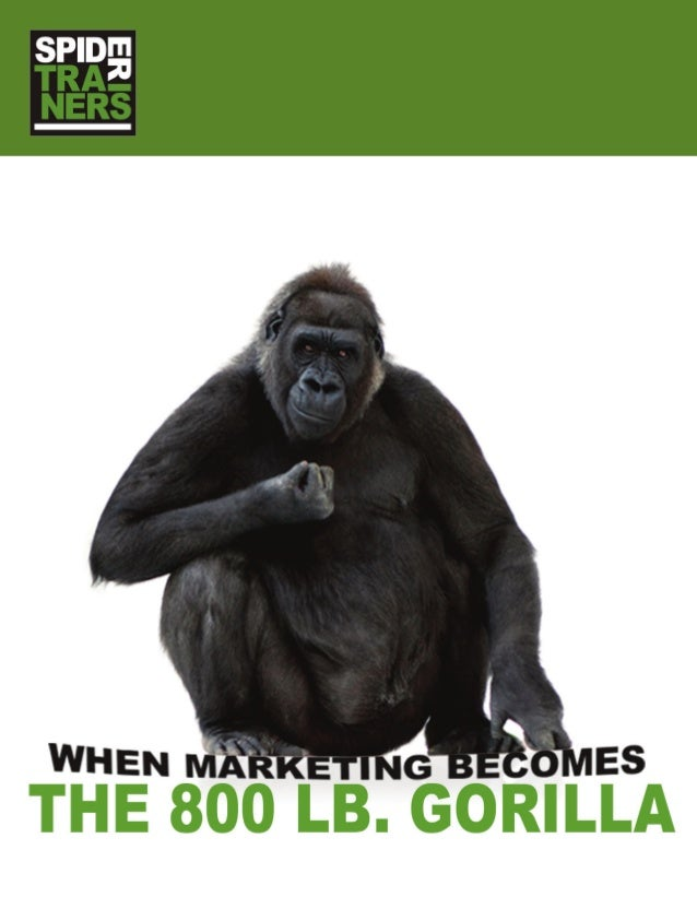 The 800 lb Marketing Gorilla