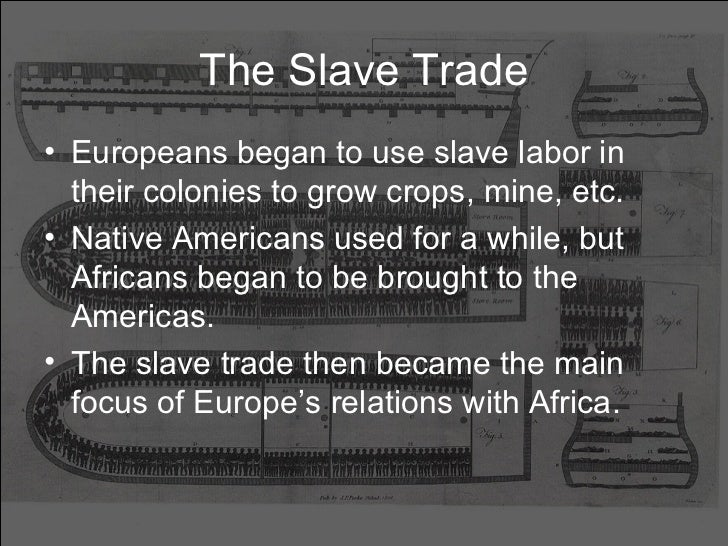 a new era of slave trade Cotton and african-american life but technological innovations to process cotton soon gave new life to slavery, which would flourish in the new nation as never before the internal slave trade forced african americans from the border states and chesapeake into the new cotton belt.