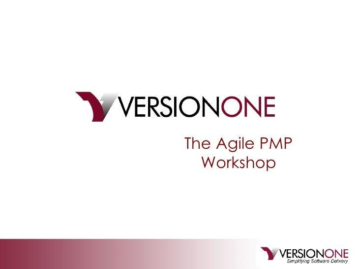 The Agile PMP Workshop