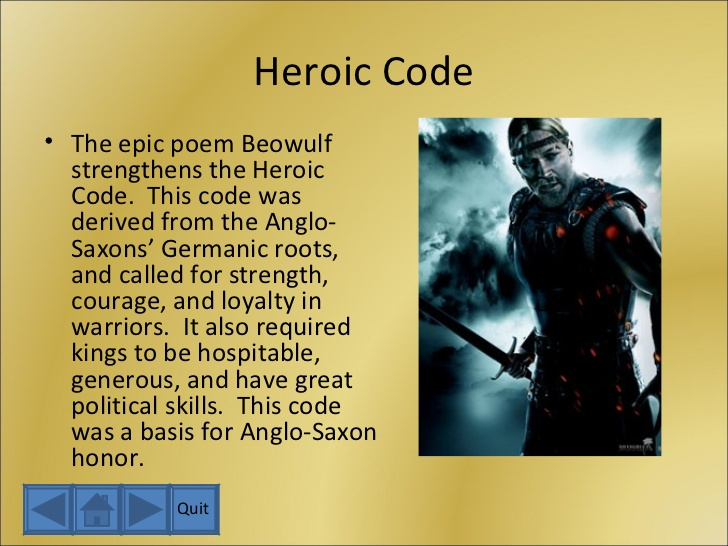 code of loyalty described in beowulf essay