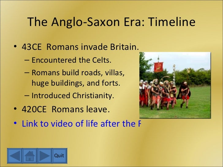 anglo saxon time essay Anglo-saxons and they were converted to christianity by missionaries from rome by the time of the emperor page 2 germanic and anglo-saxon religious beliefs.