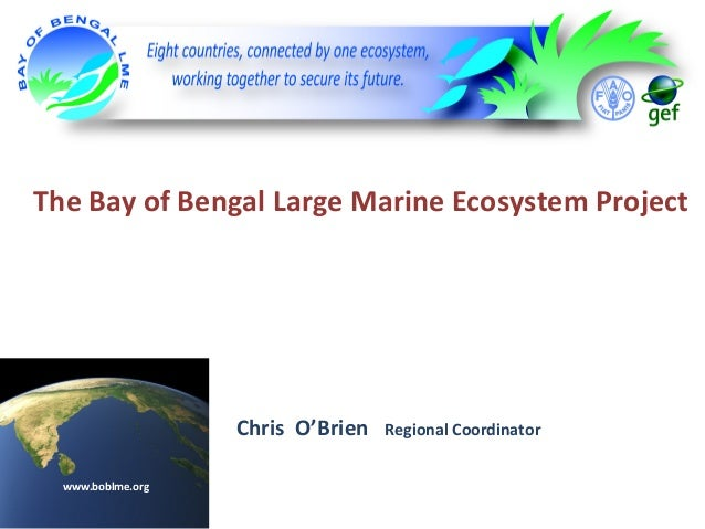 The Bay of Bengal Large Marine Ecosystem Project  Chris O'Brien www.boblme.org  Regional Coordinator