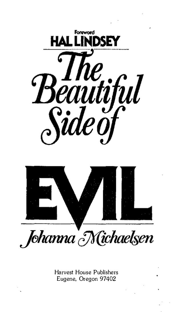 The Beautiful Side of Evil-Johanna Michaelsen