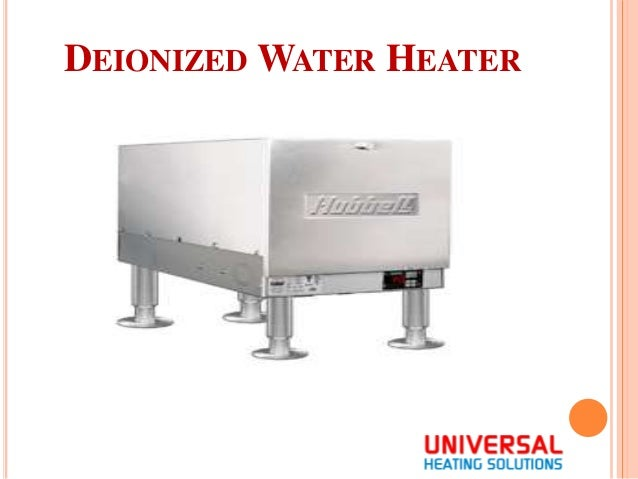 deionized water benefits