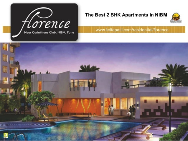 The Best 2 BHK Luxury Apartments in Nibm Pune in Florence by Kolte Patil Developers Ltd.