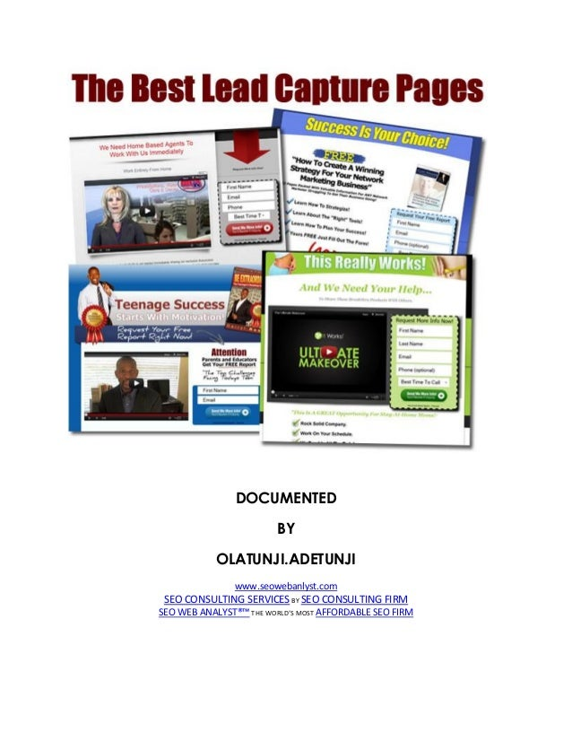 The best-lead-capture-pages
