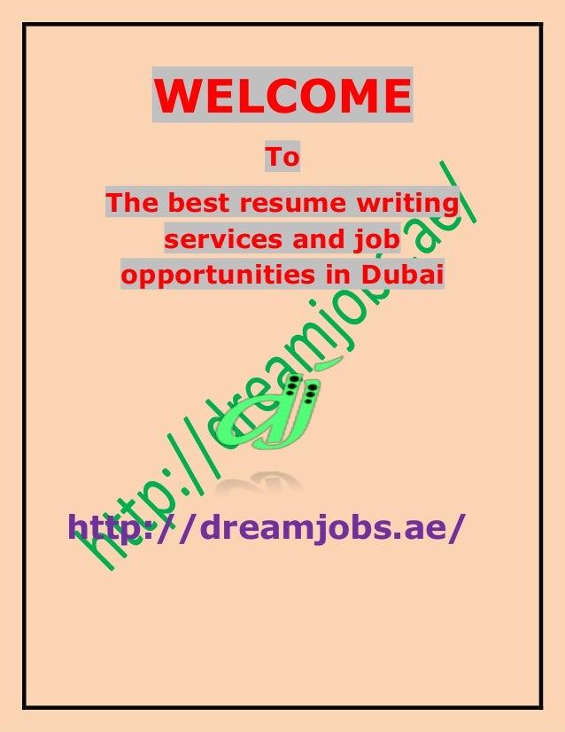 Best Dubai CV Writing Services CV Writers Reviews Example Good Resume  Template Cv Help Dubai