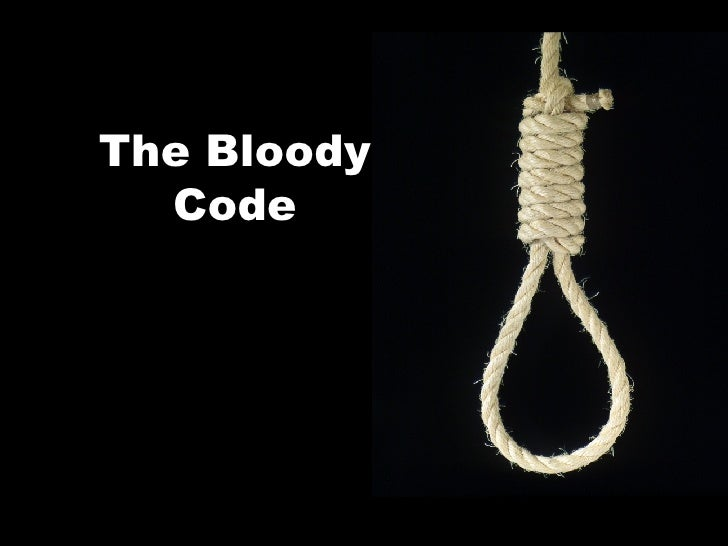 The Bloody Code