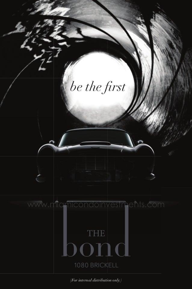 The Bond at 1080 Brickell brochure