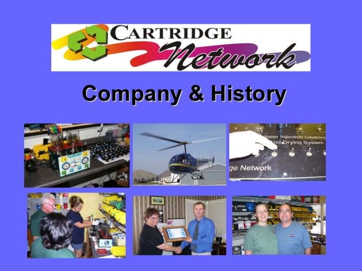 The Cartridge Network Company & History