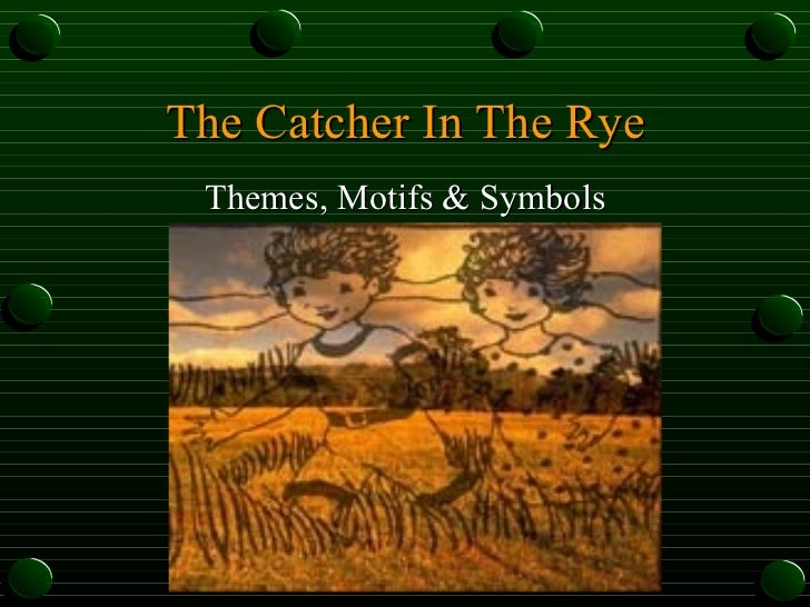catcher in the rye motifs essay