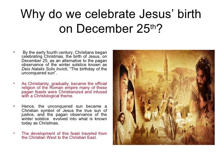 essay on why we celebrate christmas Why should we celebrate christmas ozodi thomas osuji december is upon us thus, we are in the christmas season i have handel's messiah, israel.