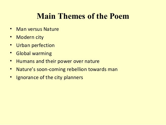 The City Planners - Poem by Margaret Atwood