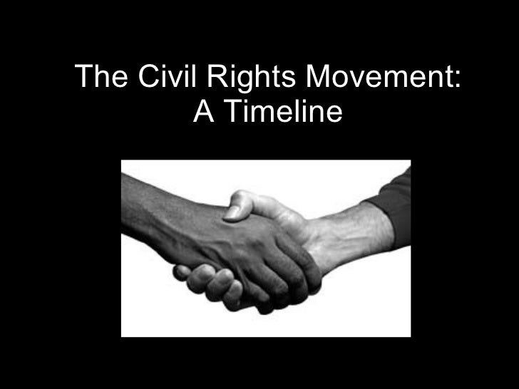 The Civil Rights Movement: A Timeline