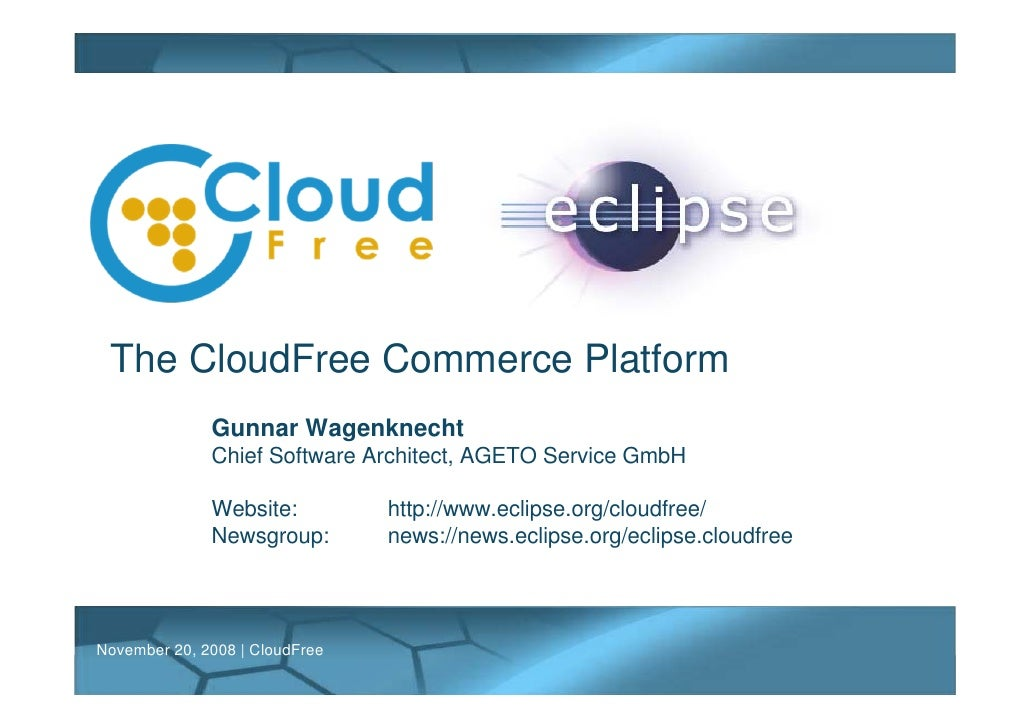 The CloudFree Commerce Platform
