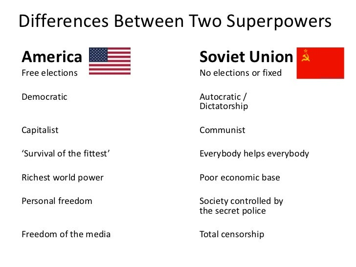 the changing relationships of the superpowers during the cold war Sample of cold war and international relations essay in other words, the cold war was highly fuelled by the great powers of the world at the time the us uses the same strategies it used during the cold war: containment policies.
