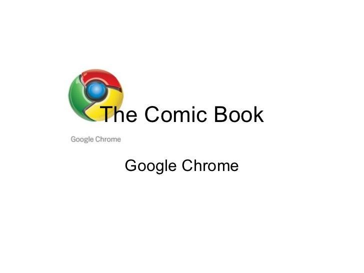 The Comic Book Google Chrome