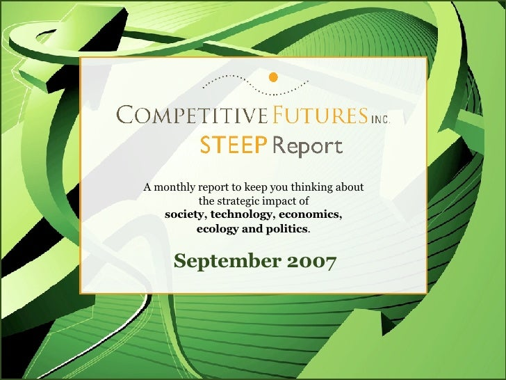 The Competitive Futures Steep Report Talent Crunch
