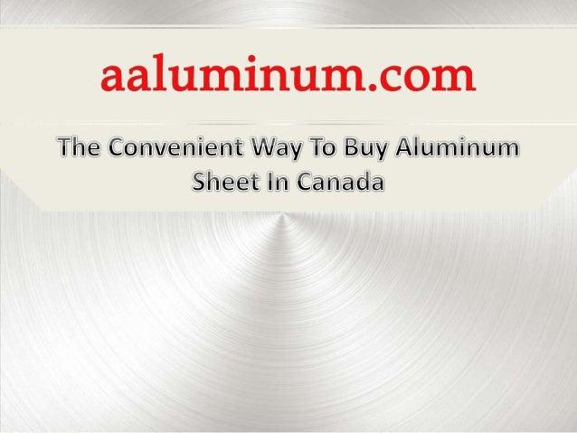 Aluminum Sheet Buy Aluminum Sheet