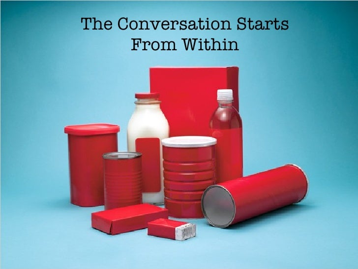 The Conversation Starts From Within